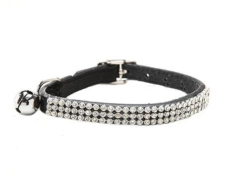 BbearT® Collar para Gatos, Collar para Cachorro de Perro pequeño, Collar Brillante con