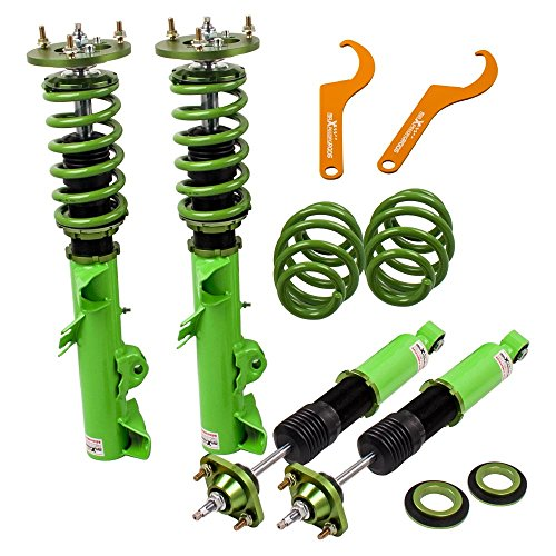 (Coilovers Shock Absorber with Adjustable Damper for BMW 3 Series E36 318i 318is 318ic 323i 323ic 323is 325is 325ic 328i 328is 328ic M3 (1992-1999))