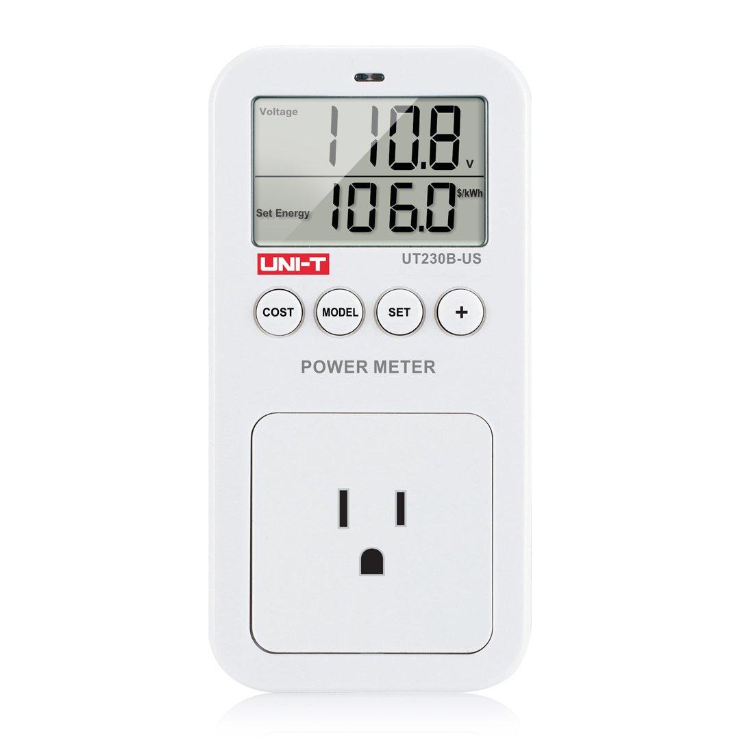 Ziboo Uni-T Ut230B-Us Plug Energy Consumption Monitor Lcd Display 750 Reduce .. 14