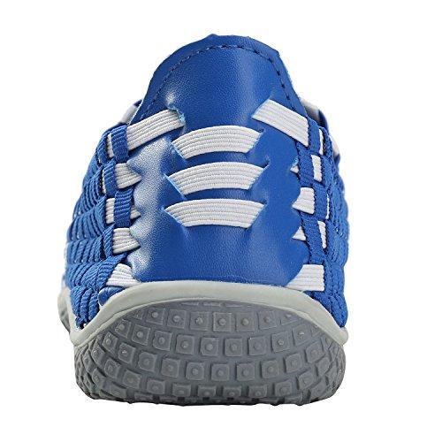 Alexis Leroy Fitness- Zapatilla deportiva de material sintético elástico mujer Azul