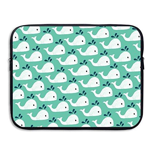 15Inch Notebook Laptop Handbag Canvas Business Shoulder Bag (Pink) - 9