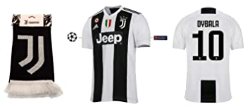 Juventus 2018-2019 Home UCL Dybala 10 - Camiseta de ...