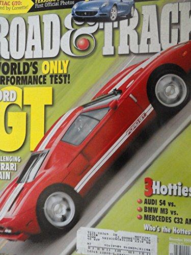 2005 Ford GT / 2004 Pontiac GTO / 2004 Audi S4 / 2003 BMW M3 / 2003 Mercedes Benz C32 AMG Road Test