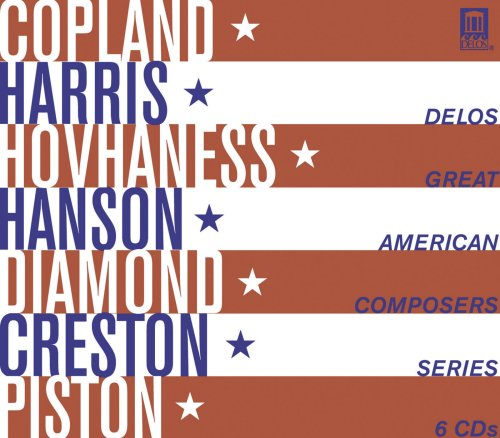 Delos Great American Composers Series by JONES,EARL