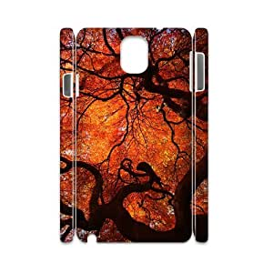 SOPHIA Phone Case Of Maple leaves real tree Unique Cool Painting Fashion Style For Samsung Galaxy Note 3 N9000