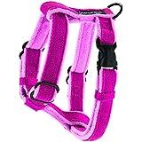Planet Dog Cozy Hemp Adjustable Harness, Pink, Small