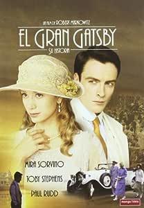 El Gran Gatsby (Manga) [DVD]: Amazon.es: Mira Sorvino