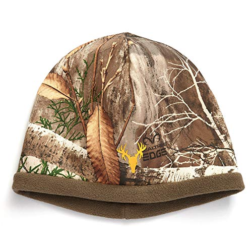 Hot Shot Men's Reversible Mustang Camo Hat - Realtree Edge Outdoor Hunting Camouflage
