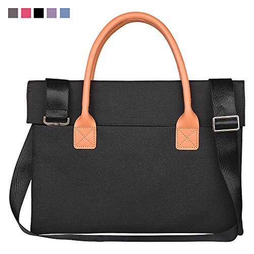 Qishare 17inch 17.3 inch Universal Unisex Fashion Portable Oxford Fabric Laptop Carrying Case/ Briefcase for 17 - 17.3 Inch Lenovo/ Hp / Asus/ Toshiba/ Dell/ Acer(17