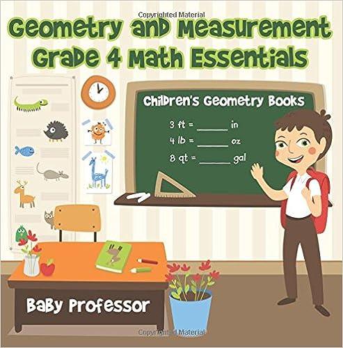 Geometry and Measurement Grade 4 Math Essentials: Children's - Ebooks