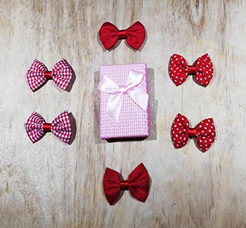 Baby Care Collection, Pinzas para el pelo Barrettes para niñas Pinza Pasador Accesorios para el cabello Pack 6 pzas Adorno...