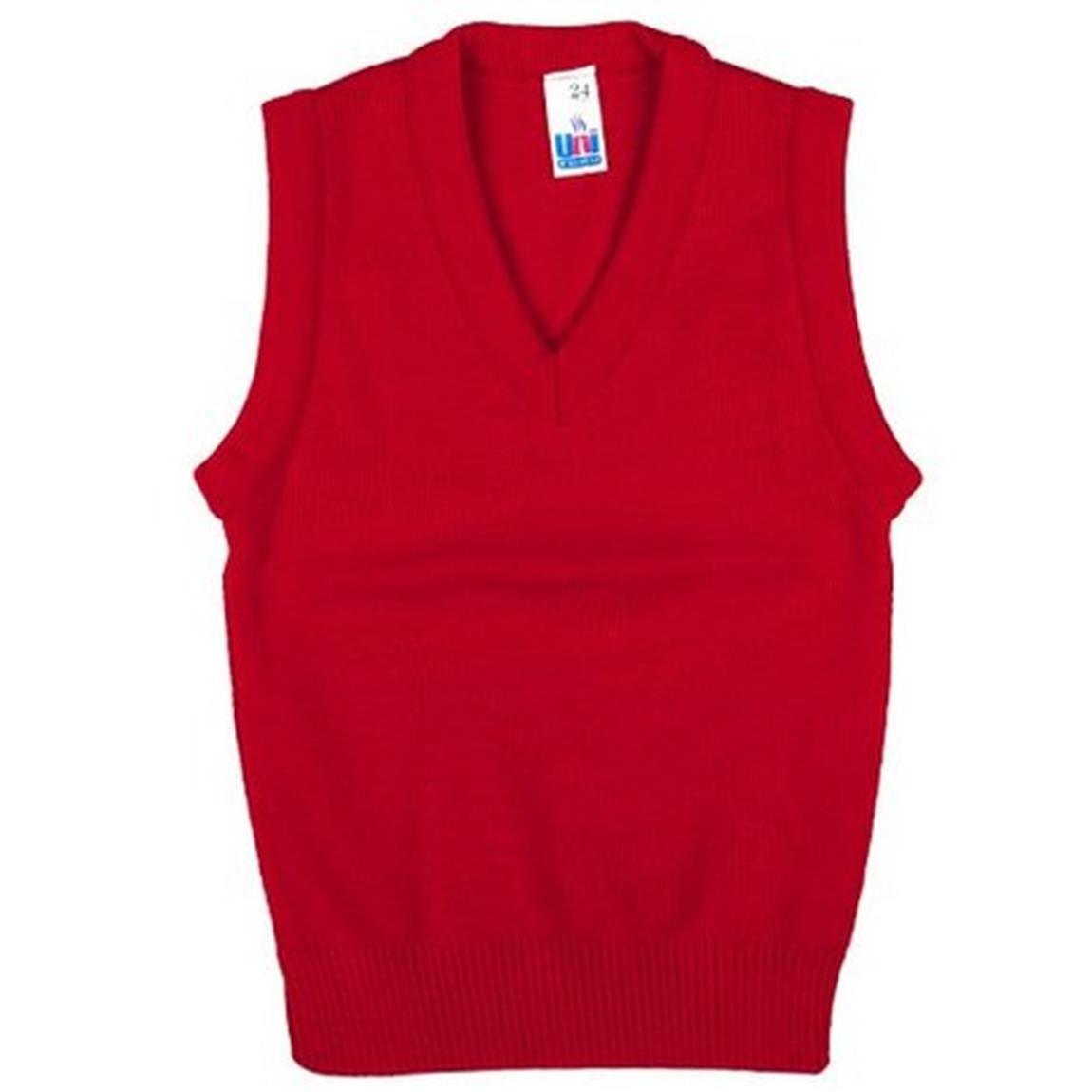 Only Uniform Unisex School Uniform V Neck Tank Top Sleeveless Jumper Size 2yr-XL Unique