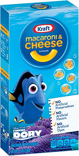 UPC 021000028030, Kraft Macaroni & Cheese Dinner, Movie Shapes, 5.5 Ounce