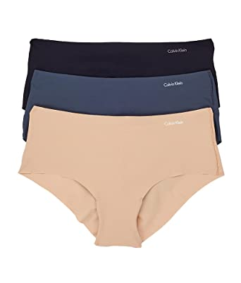 d2609e300679 Calvin Klein Women's Invisibles 3 Pack Hipster Panty at Amazon ...