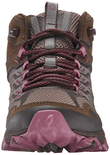 Women's Mid Boot Hiking Waterproof Merrell Moab Boulder FST dHxqwtZ