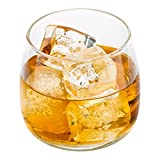 Low Ball Scotch Glass, Low Ball Whisky Glass - 6 oz - Great for Straight on the Rocks or Cocktails - 10ct Box - Restaurantware