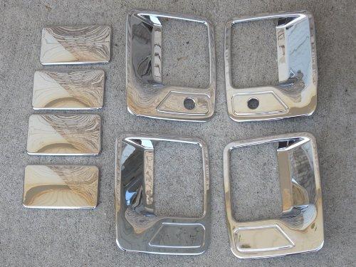 1999-2014 Ford Superduty (4 Door) - Chrome Door Handles Kit CCI