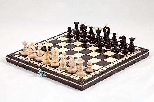 ''THE REGNO'' SCACCHIERA IN LEGNO - ECCELLENTE MANO CRAFRED 31x31cm Prime Chess