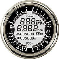 ELING Wielofunkcyjny tachometr GPS, licznik czasu, temperatura wody, poziom paliwa, ciśnienie oleju, woltomierz, 12 V…