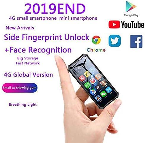 Melrose 2019 End Dual sim Cámara Dual desbloqueada 2GB 32GB 2000mAh 4G LTE 8.1 Android WiFi Resistente GPS Reconocimiento Facial Mini teléfono Inteligente Android Negro: Amazon.es: Electrónica