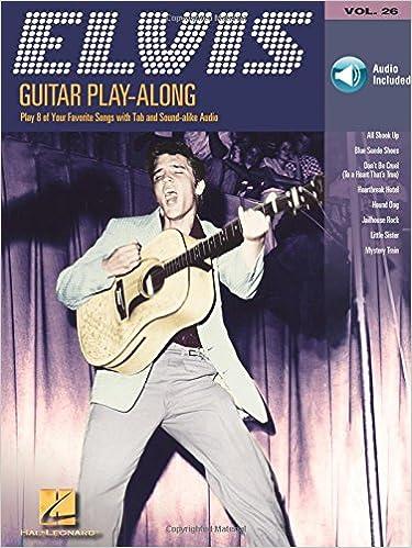 GUITAR PLAY-ALONG VOLUME 26 ELVIS PRESLEY TAB BOOK/CD