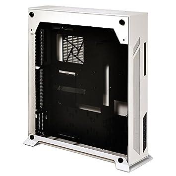 Lian Li PC-O7SW Midi-Tower Negro, Color Blanco Carcasa de ...