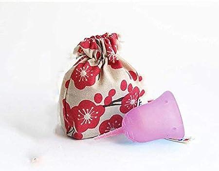 FXNB Caja De Almacenamiento para Copas Menstruales, Caja De Almacenamiento para Copas Menstruales para Flujo Sensible del Período Sensible, Copa Menstrual Reutilizable: Amazon.es: Hogar