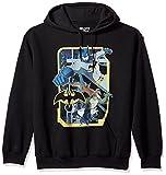 Trevco Men's Batman Unlimited Hoodie Sweatshirt, Villains Black, Large