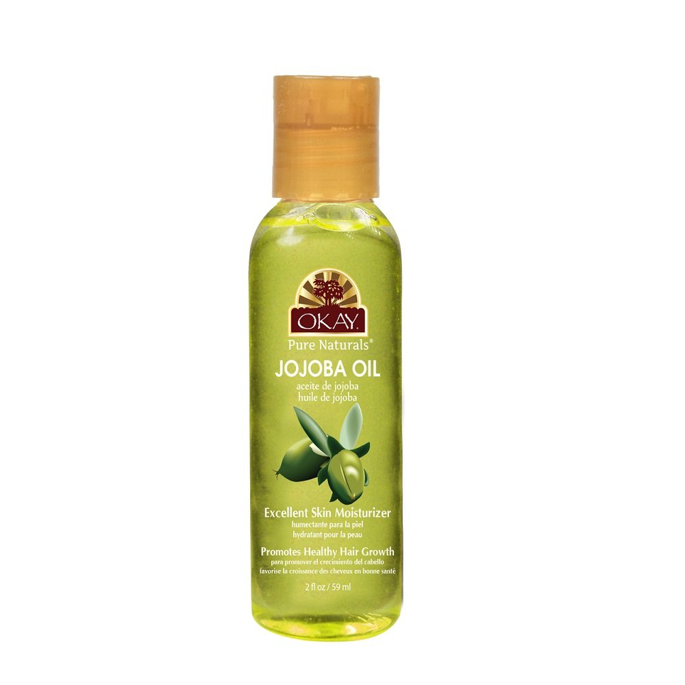 OKAY Jojoba Oil for Skin and Hair, 2 oz. OKAY-JOJO2
