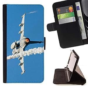 Jordan Colourful Shop - JAS Gripen fighter For LG OPTIMUS L90 - < Leather Case Absorci????n cubierta de la caja de alto impacto > -
