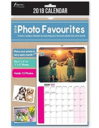 2017 insert create print your own photos a4 spiral bound wall 2018 insert your own photos a4 spiral bound wall hanging calendar solutioingenieria Image collections