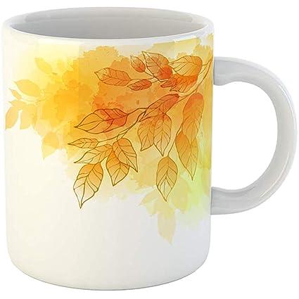 89928f40340 Amazon.com   Coffee Tea Mug Gift 11 Ounces Funny Ceramic Yellow ...