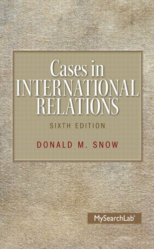 Download Cases in International Relations (2 downloads) (6th Edition) Pdf
