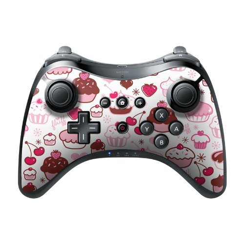 Sweet Shoppe Design Protective Decal Skin Sticker (Matte Satin Coating) for Nintendo Wii U Pro Controller Device by - Sweet Designs Shoppe
