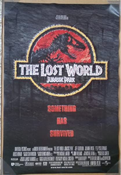 Amazon Com Jurassic Park The Lost World Movie Poster 2 Sided Original Intl Final 27x40 Steven Spielberg Posters Prints