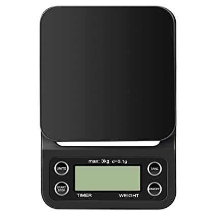 Anpress Digital Coffee Scale With Timer Electric Kitchen Scale Food Scale Multifunctional Pro Scales 3000g 0 01oz 0 1g Jewelry Scales With Back Lit