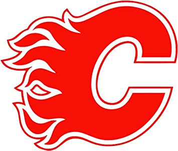 Calgary Flames Decal Sticker For Car Or Truck Windows Laptops Etc Decals Magnets Bumper Stickers Amazon Canada