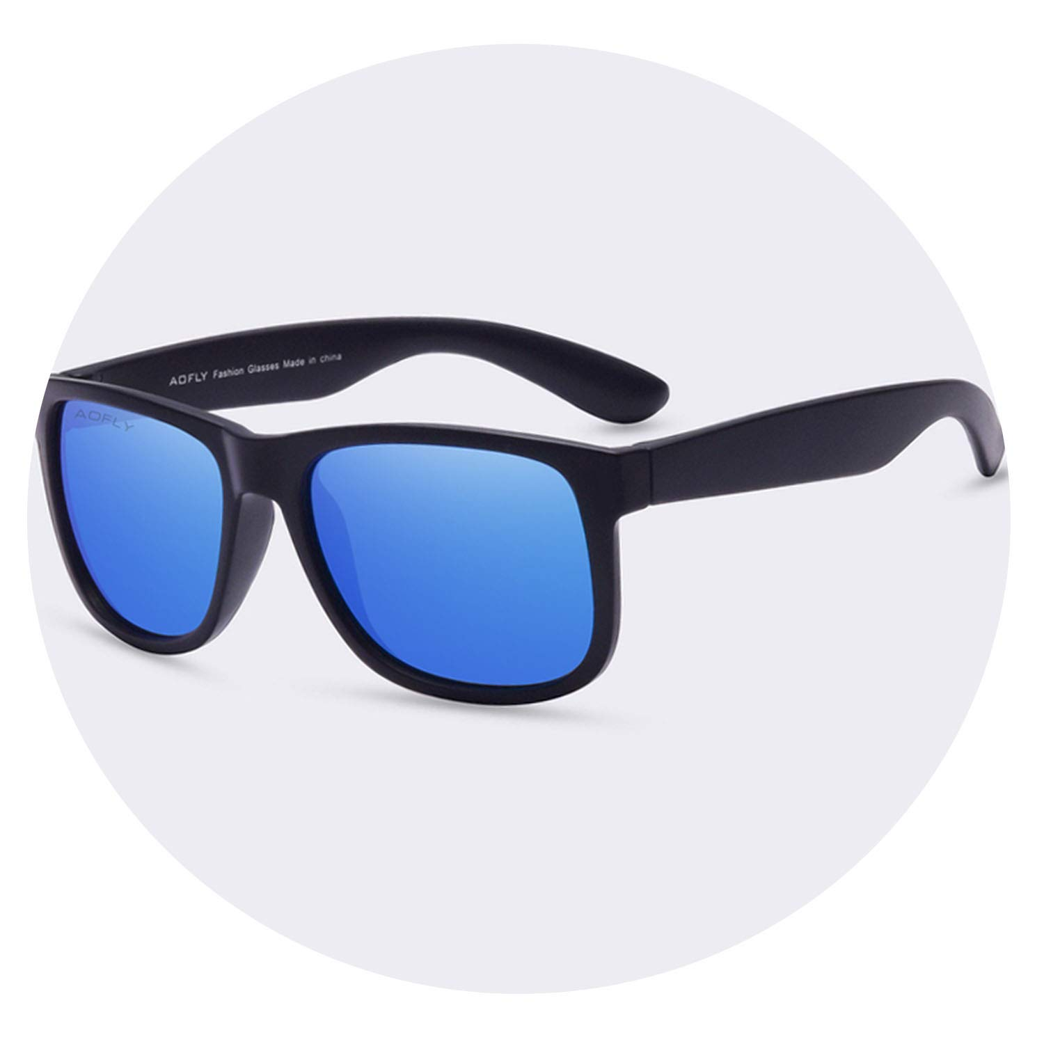Amazon.com: Sunglasses Men Fashion TPE Frame Male Eyewear ...