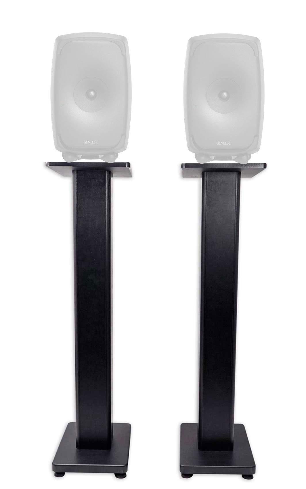 "Rockville 36"" Studio Monitor Speaker Stands for Genelec 8351A Monitors"
