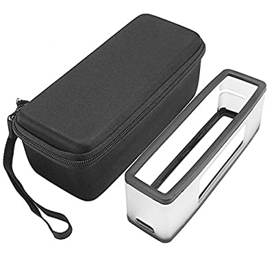 Aobiny Soft Cover + Storage Case Bag For Bose-Soundlink Mini I II 2 Bluetooth Speaker from Aobiny