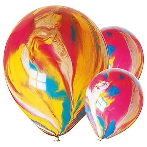 """Painted Balloons Birthday Party 11/"""" Latex Balloons"""