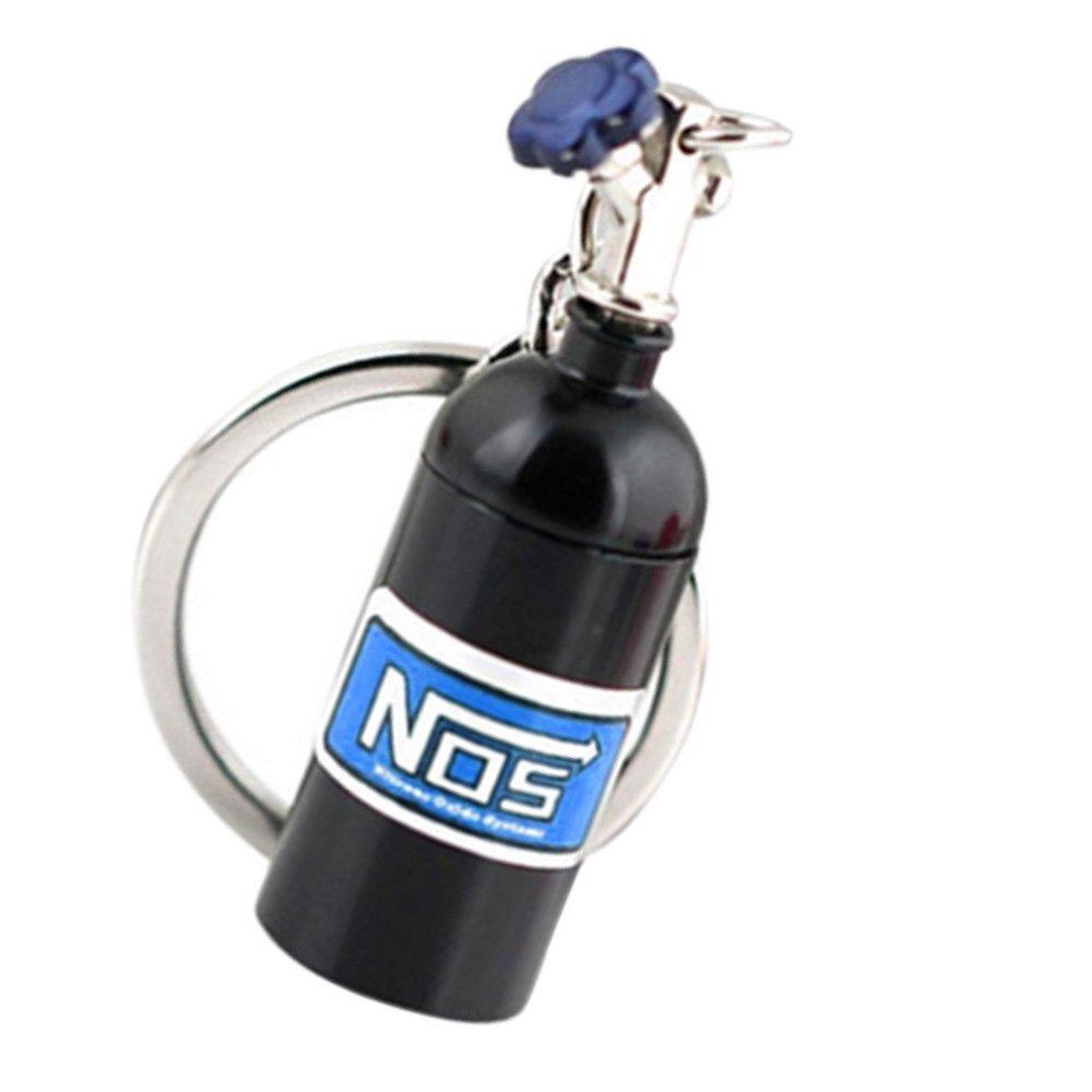 KingNew Turbo llavero de metal con botella de óxido de ...