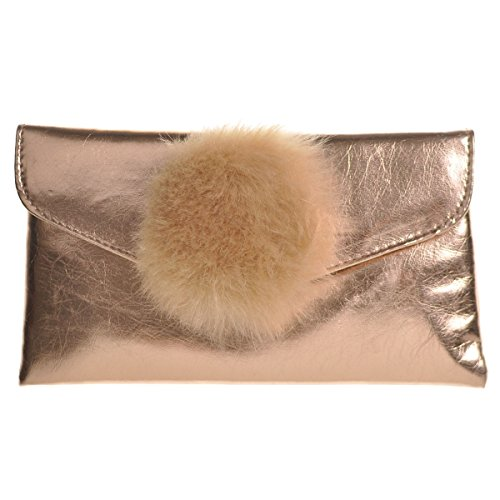Pochette femme Cloud9basic 0 multicolore Doré pour wFwdErqxS