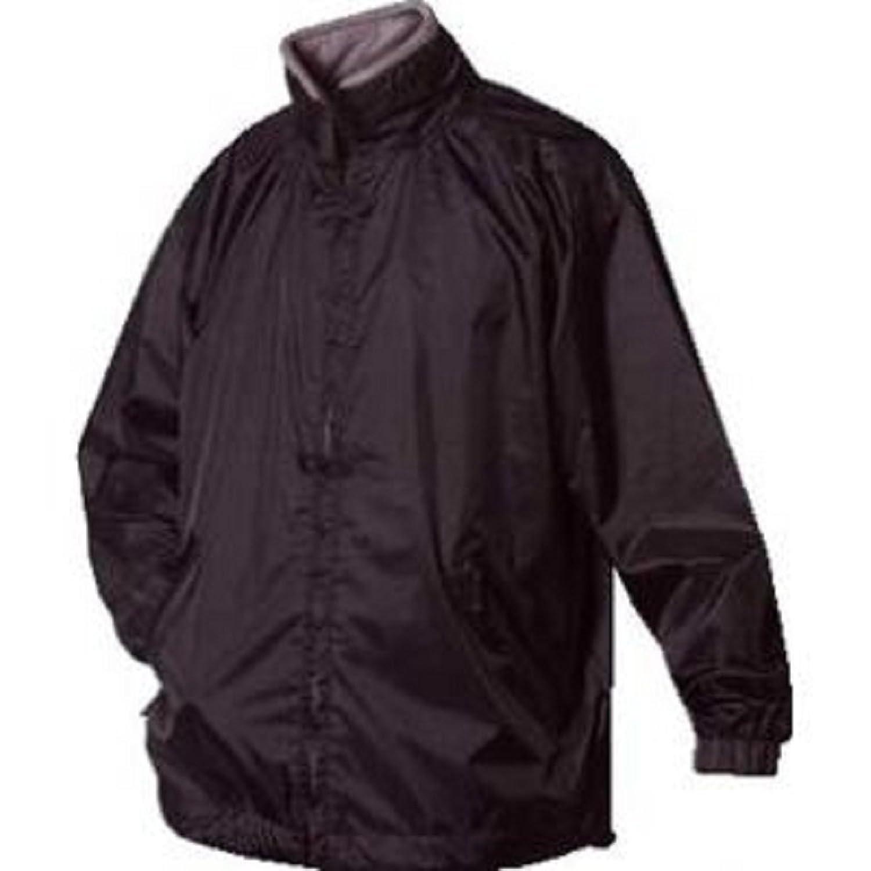 Mens rain proof jacket black