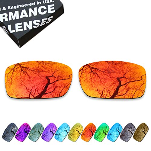 ToughAsNails Polarized Lens Replacement for Oakley Crankcase OO9165 Sunglass - More Options