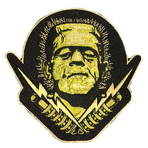 Universal Monsters Frank 'N' Bolts Embroidered Patch