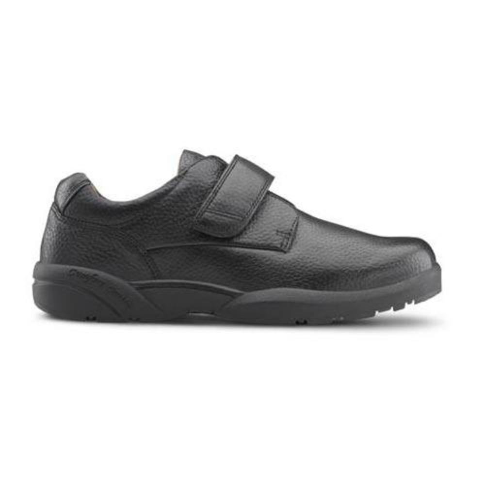 Dr. Comfort William-X Men's Therapeutic Diabetic Extra Depth Shoe: Black 10 X-Wide (XW/6E) Velcro