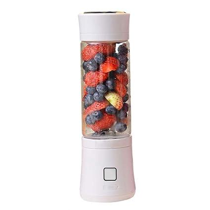 Batidora De Vaso Portátil Mini Licuadora Eléctrica Recargable Juice Blender Con USB 480ml Para Hacer Smoothie