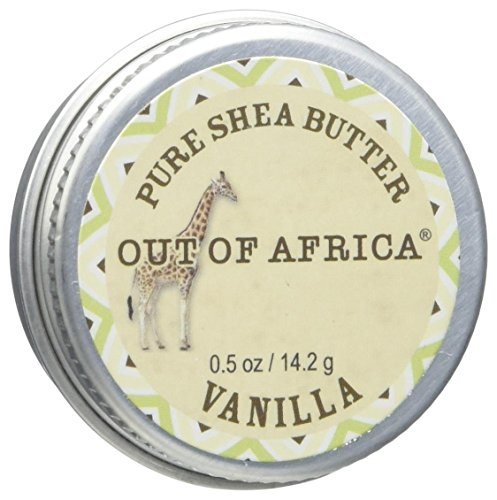 - Out Of Africa Shea Butter Travel Tin, Vanilla, 0.5 Ounce
