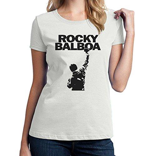 Rocky Balboa Background Damen T-Shirt